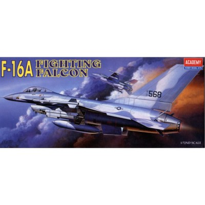 GENERAL DYNAMICS F-16 A FALCON - Academy 12444