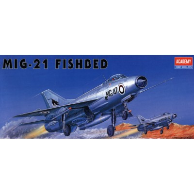 MIKOYAN GUVERICH MIG-21 FISHBED - Academy 12442