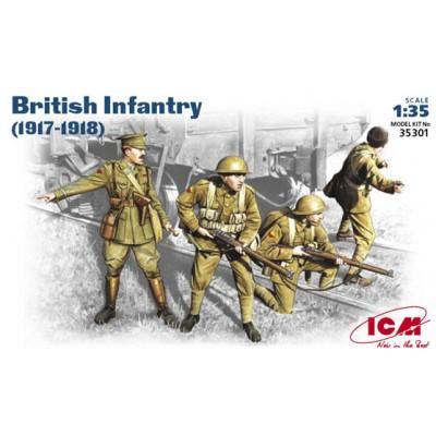 INFANTERIA BRITANICA (1917 - 1918) - ICM 35301