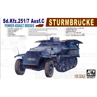 SEMIORUGA SD.KFZ.251/7 C (Sturmbrucke) AFV AF35077