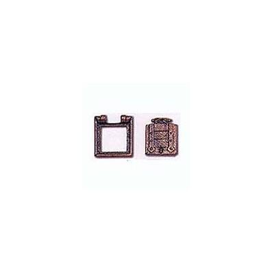 MARCO TRONERA CON PORTON (10 x 10 mm)