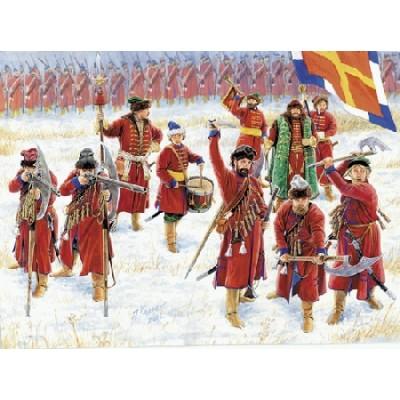 INFANTERIA RUSA STRELETS (Siglo XVI - XVII)