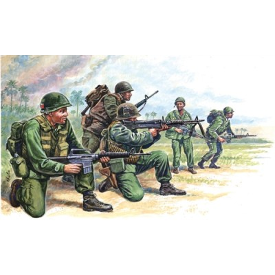 FUERZAS ESPECIALES USA (VIETNAM) ESCALA 1/72 50 MINIATURAS