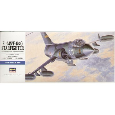 LOCKHEED F-104 S/G STARFIGHTER 1/72 - Hasegawa D17