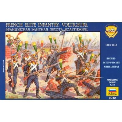 INFANTERIA DE ELITE FRANCESA VOLTIGEUR (1.805-1.813)