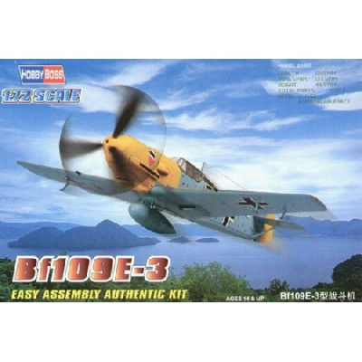 MESSERCHMITT BF-109 E-3 -escala 1/72- HOBBYBOSS 80253
