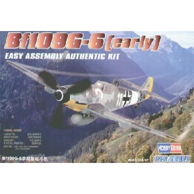 MESSERSCHMITT BF-109 G-6 EARLY 1/72
