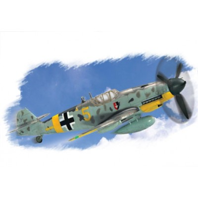 MESSERSCHMITT BF-109 G-2 - escala 1/72 - HOBBYBOSS 80223