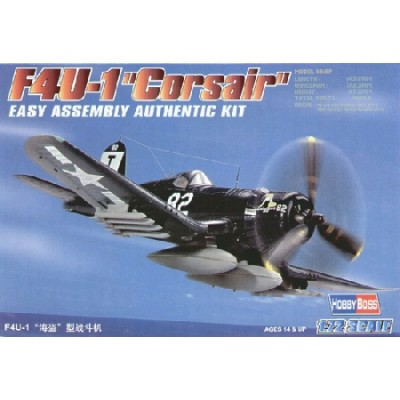 VOUGHT F4U-1 CORSAIR - escala 1/72 - HOBBYBOSS 80217