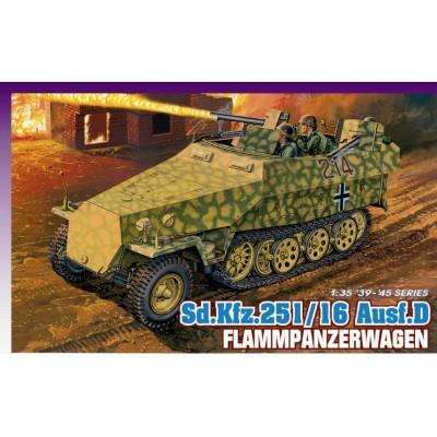 TRANSPORTE DE TROPAS SD.KFZ.251/16 Ausf.