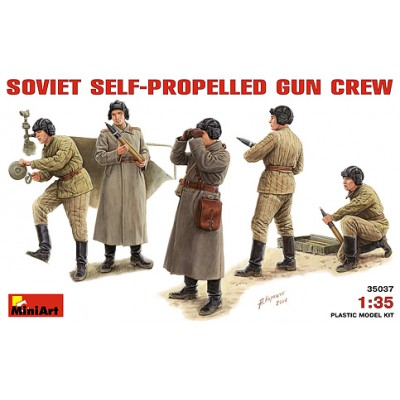ARTILLEROS SOVIETICOS CAÑON AUTOPROPULSA