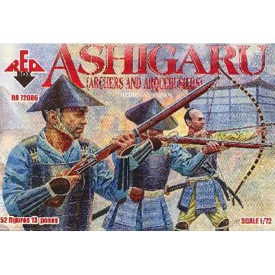 SAMURAIS ASHIGARU (ARCHERS AND ARQUEBUSI