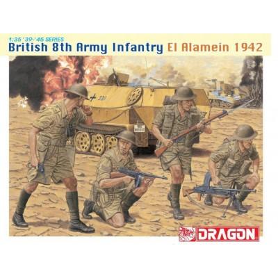 INFANTERIA BRITANICA 8º EJERCITO (EL ALAMEIN 1.942)