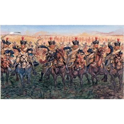 CABALLERIA LIGERA BRITANICA 1815 ESCALA 1/72 17 MINIATURAS