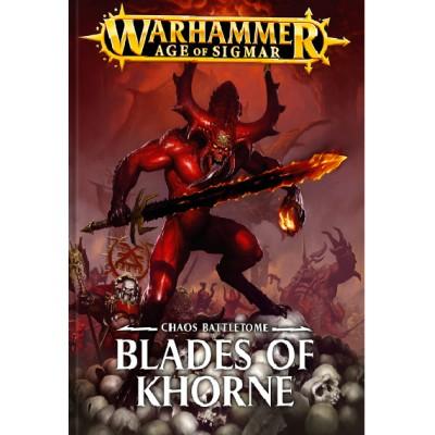 *Battletome: BLADES OF KHORNE (Castellano) - Games Workshop 8301