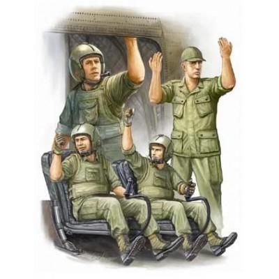 TRIPULACION DE HELICOPTERO U.S. VIETNAM - Trumpeter 00417