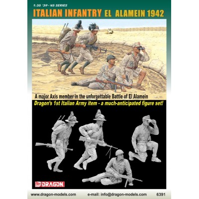 INFANTERIA ITALIANA EL ALAMEIN 1.942