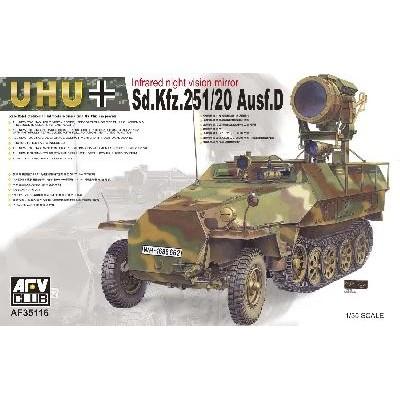 SEMIORUGA SD.KFZ. 251/20 Ausf.D UHU - AFV Club AF35116