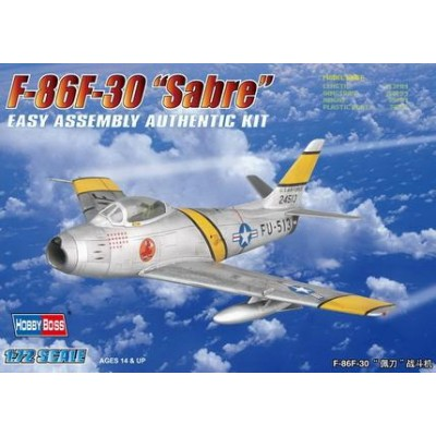 NORTH AMERICAN F-86 F-30 SABRE - escala 1/72 - HOBBYBOSS 80258