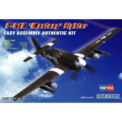 NORTH AMERICAN P-51 B MUSTANG -1/72- Hobby Boss 80242