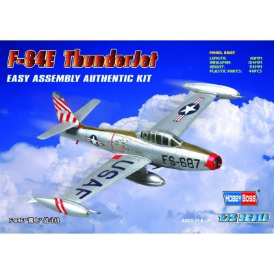 REPUBLIC F-84 E THUNDERJET -1/72- Hobby Boss 80246