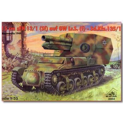 OBUS AUTOPROPULSADO SD.KFZ. 135/1 (Sig 33)