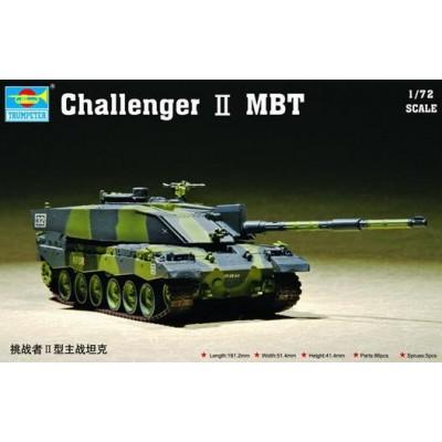 CARRO DE COMBATE CHALLENGER II MBT - Trumpeter 07214