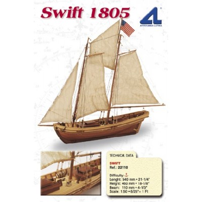 BARCO PILOTO SWIFT 1.805