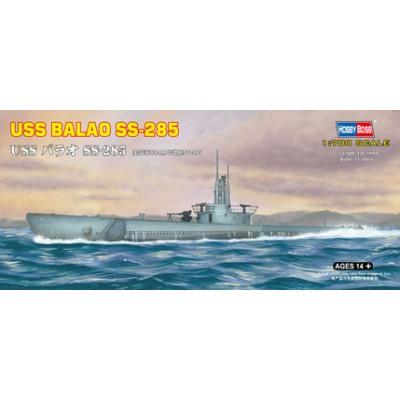 SUBMARINO U.S.S. BALAO SS-285 1/700