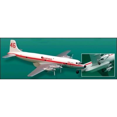 DOUGLAS DC-6 B  CONAIR   (BOMBERO AEREO)- escala 1/144