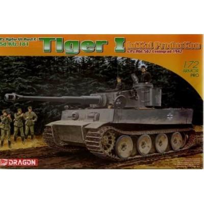 CARRO DE COMBATE SD.KFZ.181 TIGER I (Ini