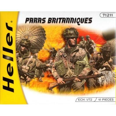PARACAIDISTAS BRITANICOS 2ª G.M. (48 piezas) 1/72