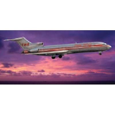BOEING 727-200 TWA 1/144