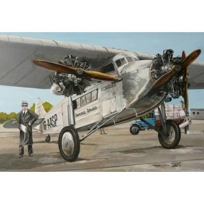 AVRO 618 TEN - escala 1/144