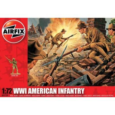 INFANTERIA U.S. 1ª G.M. (48 piezas) 1/72 - Airfix A01729