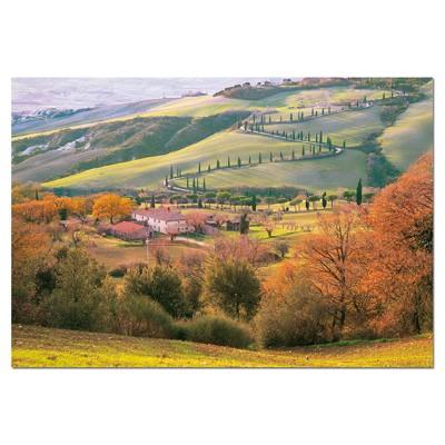 PUZZLE 1500 PZAS LA TOSCANA, ITALIA 85 x 60 cm