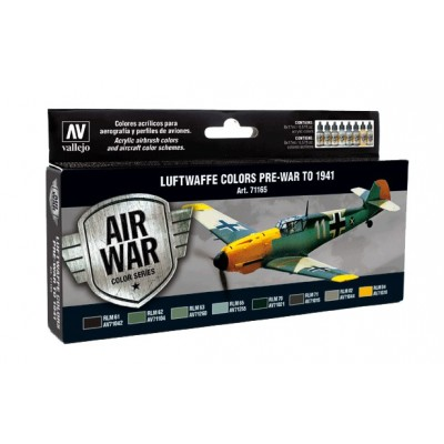 AIR WAR: COLORES LUFTWAFFE PRE-GUERRA - 1941 (8 botes)