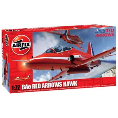 BRITHIS AEROSPACE BAe HAWK (Red Arrow) 1/72