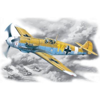 MESSERSCHMITT Bf-109 F-4 Z TROP - ESCALA 1/48 - ICM 48105