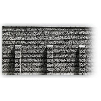 MURO CON CONTRAFUERTES HO (335 x 125 mm) - Noch 58056