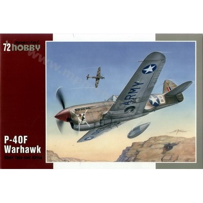 CURTISS P-40 F WARHAWK -1/72- Special Hobby 72155