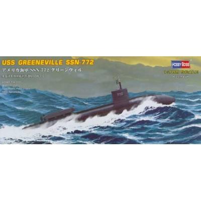 SUBMARINO USS GREENEVILLE SSN-772 1/700