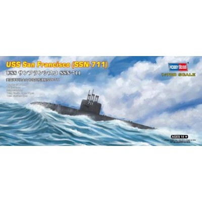 SUBMARINO USS SAN FRANCISCO SSN-711 1/700