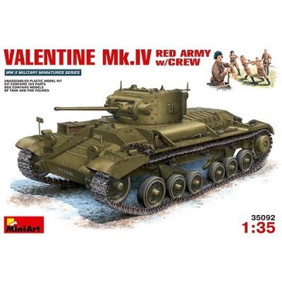 De Carro Combate IvrusoY Valentine Tripulacion Mk ARqc354jSL