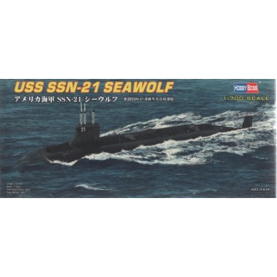 SUBMARINO U.S.S. SEAWOLF SSN-21 1/700