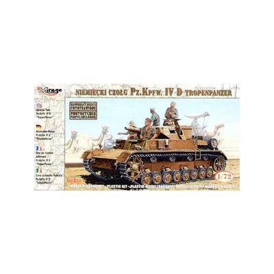 CARRO DE COMBATE SD.KFZ. 161 Ausf. D PANZER IV - Mirage Hobby 728056