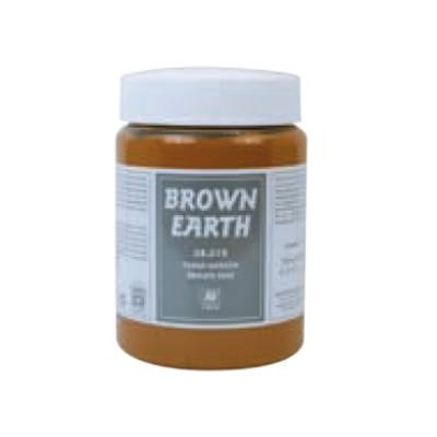 PASTA COLOR TIERRA MARRON (200 ml)