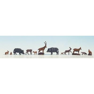 ANIMALES DEL BOSQUE - ESCALA h0 - NOCH 15745