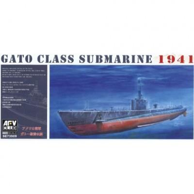 SUBMARINO CLASE GATO 1.941 1/350