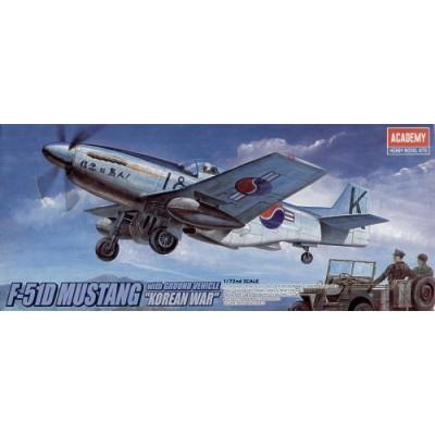 NORTH AMERICAN P-51 D MUSTANG Guerra de Korea
